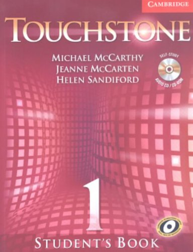 Touchstone Level 1 Student's Book with Audio CD/CD-ROM...