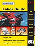 img - for 2002 Motorcycle Labor Guide (Autodata Motorcycle Labor Guide (North America)) book / textbook / text book