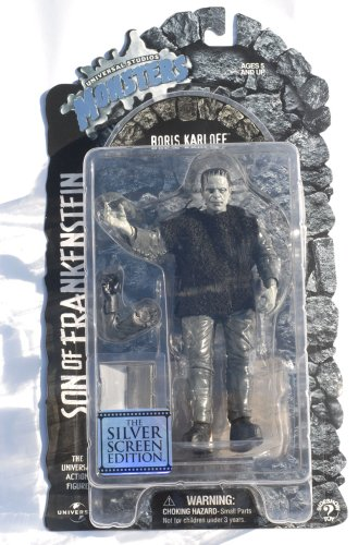 Buy Low Price Sideshow Universal Studios Monsters Son of Frankenstein Universal Studios Classic Monster Silver Screen Edition Action Figure (B0012XZVEE)