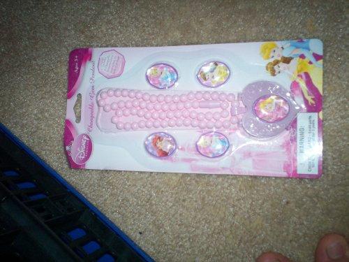 Disney Princess Plastic Changeable Gem Bracelet or Gem Rings(Choose below)