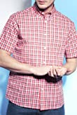 Blue Harbour Pure Cotton Mini Check Shirt [T25-8188B-S]