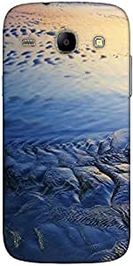 Snoogg Beach Texture Designer Protective Back Case Cover For Samsung Galaxy C...