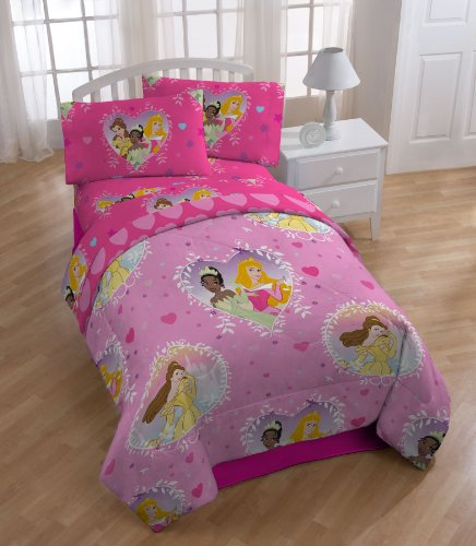 Disney Princess Rotary Comforter Set, Twin