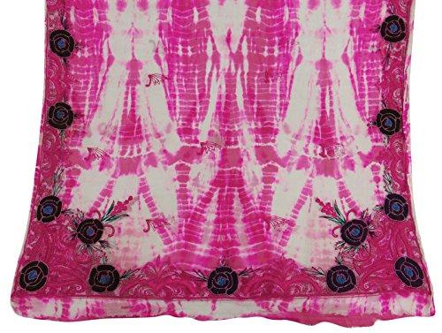 jahrgang-dupatta-lange-reine-chiffon-silk-magenta-gedruckte-verpackungs-bindung-und-farben-sie-kunst