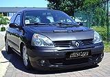 Bonnet Bra Renault Clio II 7/01-9/05 Black