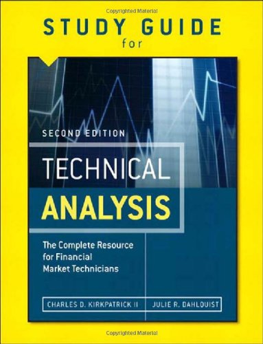 Study Guide for the Second Edition of Technical Analysis:The Complete Resource for Financial Market Technicians