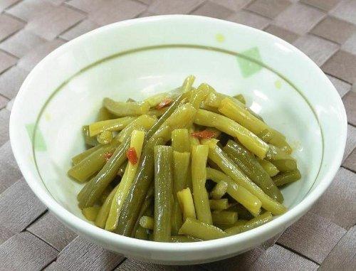 築地市場の山三秋山 惣菜シリーズ にんにくの芽漬 250g