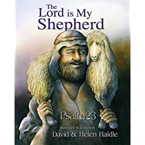 Psalm 23 - The Lord Is My Shepherd - 23rd Psalm Teacher Aid Cards (English and Spanish Edition)