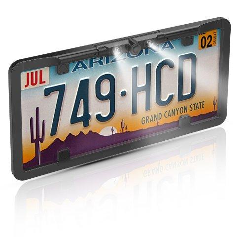BOYO VTL375HDL Multi-View License Plate Camera (Black)