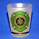 Irish Firemen shot glass gift