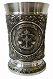 ARTINA Weinbecher 8cm Waage 錫合金(ピューター)製ワインカップ 110ml 星座シリーズ(てんびん座) [10236]