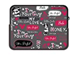 Disney Minnie Mouse 14-Inch Words Sleeve (23610)