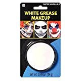 amscan Face Paint - White Grease (Color: White, Tamaño: 6.5