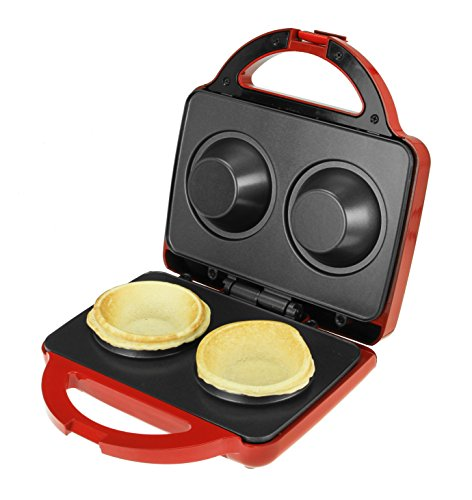 Kalorik WM 40423 R Waffle Bowl Maker, Red