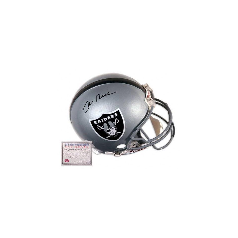 Jerry Rice Oakland Raiders Autographed Mini Helmet