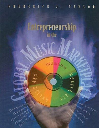 LSC Entrepreneurship in the Global Music Marketplace...