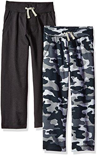 Gerber Graduates Boys' Toddler Boys' ' 2 Pack Pants, Black/Black Camo, 4T (4t Boys Pants compare prices)