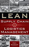 img - for Lean Supply Chain and Logistics Management by Myerson, Paul (2012) Hardcover book / textbook / text book