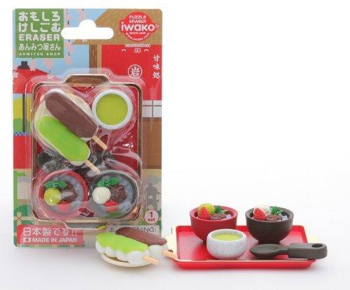 Iwako Japanese Desserts Shop Erasers Blister Set - 1