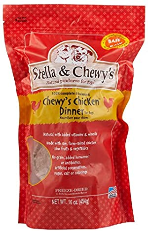 Stella & Chewy's Freeze Dried Dog Food for Adult Dogs