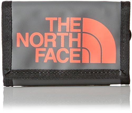 The North Face Base Camp-Portafogli, colore: grigio/corallo, misura unica