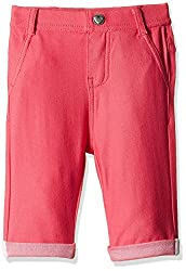 Fox Girls' Jeans (Red Melange_2 years_310540)