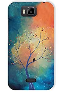 IndiaRangDe Hard Back Cover FOR Huawei Honor Bee