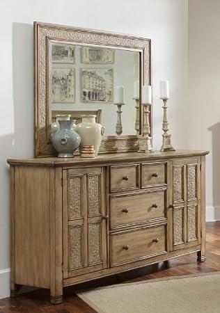 Progressive Furniture P196-24 Door Dresser Kingston IsleCollection