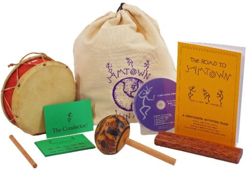 Children'S Musical Instrument Starter Set - Instruments, Instructions, Cd