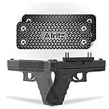 Magnet Gun Mount for Car, Alritz Rubber Coated Gun Magnetic Holster, Concealed Holder for Pistol, Air Gun, Revolver, Handgun, Shotgun, Rifle in Vehicle, Truck, Desk, Wall, Home, Office (Black, 2 Pack) (Color: Black, 2 Pack)