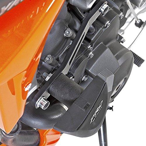 Roulettes de protection Puig PRO Yamaha XSR 900 2016 noir