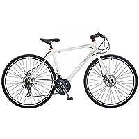 Viking Men's Notting Hill 700 C Hybrid Bike - White, 18 Inch by Viking