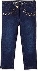 Nautica Kids Girls' Jeans (34G32D401_Academy Wash_16)