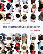By Earl R. Babbie: The Practice of Social…