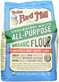 Bob's Red Mill Organic Unbleached White All Purpose Flour, 48 Ounces