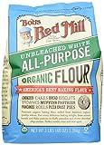 Bob's Red Mill Organic Unbleached White Flour, 48 oz