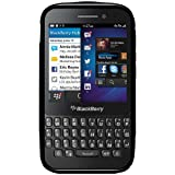 Amzer TPU Hybrid Case Cover for BlackBerry Q5 - Black