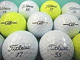 ロストボール ランク1 特選ロスト タイトリスト グランゼ プレミアムブラックパール(黒) 20P ゴルフボール