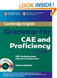 Cambridge Grammar for CAE and Proficiency: Book with answers and Audio-CD