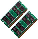4Gb (2 x 2Gb) DDR2 Memory for Dell Latitude D531 D620 D630 D630ATG laptop Memory RAM