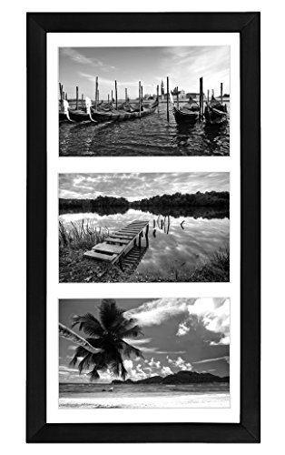 Collage Picture Frame 5x7 By Americanflat - Display Three Photos Sized 5x7 on Your Wall - Perfect As a Family Collage Picture Frame (Side By Side Frame 5x7 compare prices)
