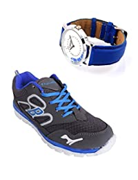 Elligator Sports Shoes With Lotto Blue Watch - B00WSA9GT6