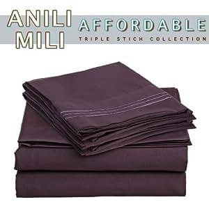 Amazon.com - De Anili Mili Triple puntada bordado asequible 4 PC hoja