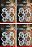 Bread and Bagel Bag Clips (4 Packs)