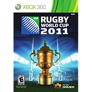 Rugby World Cup 2011 Video Game for Xbox 360