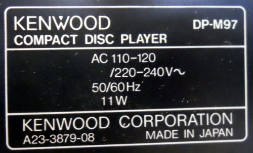 Image #5 of Kenwood DP-M97