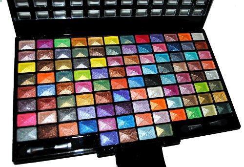 Elégant kit de 100 pièces Glitter de fard à
