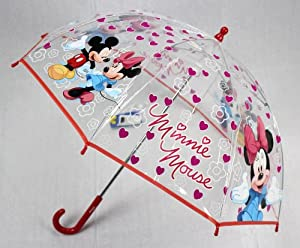 Minnie Maus Regenschirm Transparent Disney Super Süss