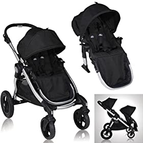 baby jogger city select stroller with 2nd seat strollers car seats. Black Bedroom Furniture Sets. Home Design Ideas