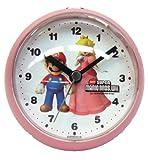 ニュー スーパーマリオブラザーズ クロック 目覚し時計 SAP003PK